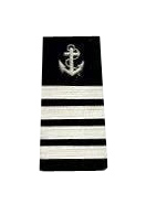 Epaulets Anchor & Stripes