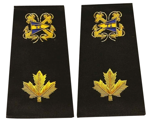 Custom Epaulets Sample 3