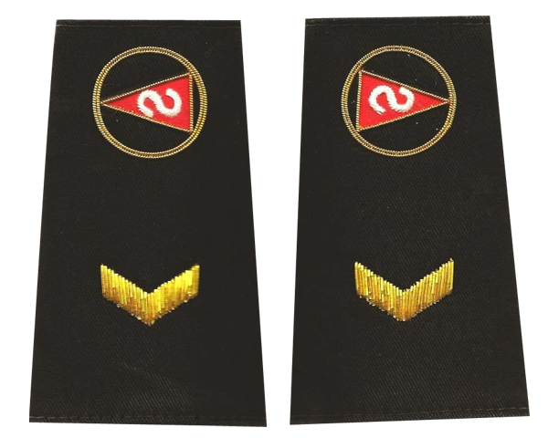 Custom Epaulets Sample 6