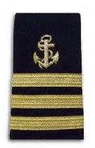 Vice Commodore anchor stripes