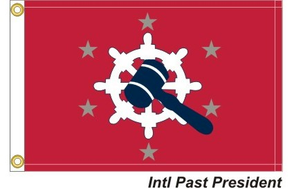 International Past President 6-Silver Stars