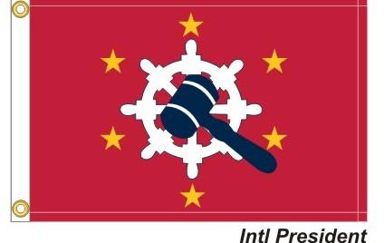 International President 6-Gold Stars