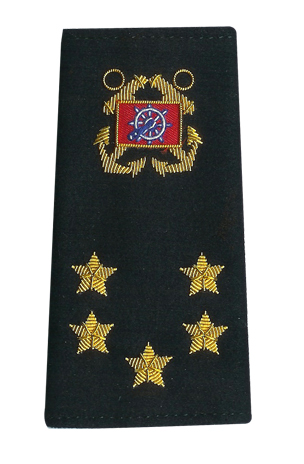 International Officer shoulder boards