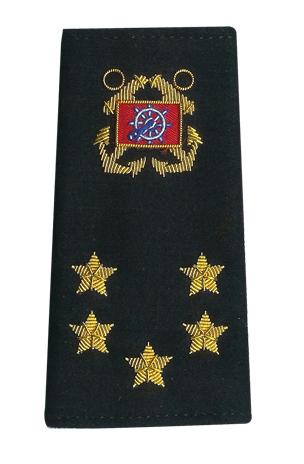 International Officer shoulder boards